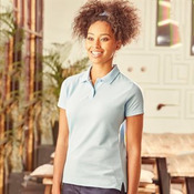 Russell women's classic poly/cotton polo