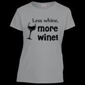 Less whine, more wine