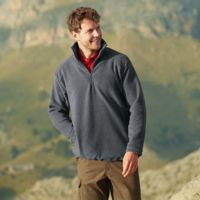 Fruit of the Loom Half zip fleece Thumbnail