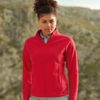 Fruit of the Loom Lady-fit full zip fleece Thumbnail