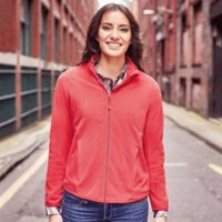 Russell Women's full zip fitted microfleece Thumbnail