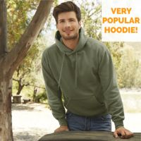 Fruit of the Loom Classic 80/20 hooded sweat Thumbnail