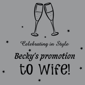 Promotion to wife Design