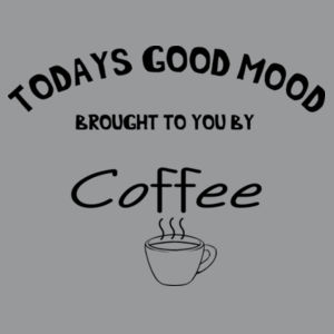 Todays good mood, brought to you by coffee. Design