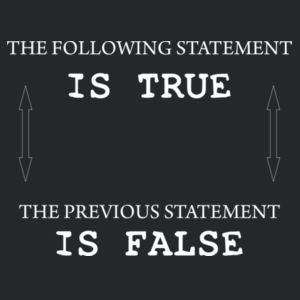 The following statement is true - the previous statement is false Design