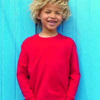 Fruit of the Loom Kids long sleeve valueweight tee Thumbnail