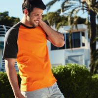Fruit of the Loom short sleeve baseball tee Thumbnail