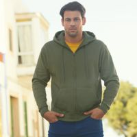 Fruit of the Loom Premium 70/30 hooded sweat jacket Thumbnail