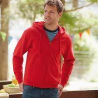 Fruit of the Loom Classic 80/20 hooded sweat jacket Thumbnail