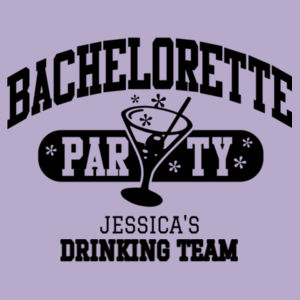 Bacherlorette drinking team Design
