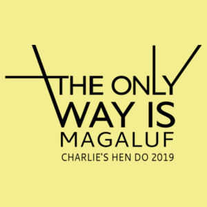 The only way is... Design