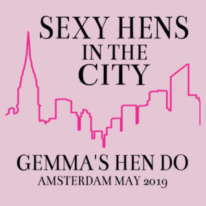 Sexy hens in the city Design