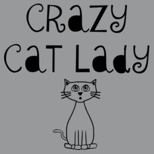 Crazy cat lady Design