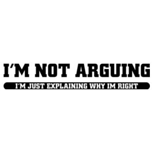 I'm not arguing, I'm explaining why I'm right Design
