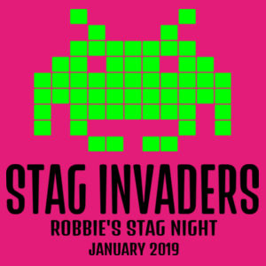 Stag Invaders Design