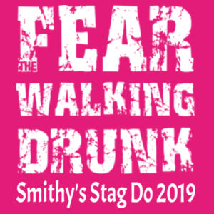 Fear the Walking Drunk Design